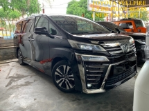 2018 TOYOTA VELLFIRE 2.5 ZG PILOT SEATS MEGA SPEC*** 4 CAMERA / FULL LEATHER / PRE CRASH / DISTRONIC *** FREE 3 YEAR WARRANTY *** OFFER OFFER
