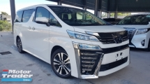 2018 TOYOTA VELLFIRE 2018 Toyota Vellfire 2.5 ZG Sun Roof JBL 17 Speaker Home Theatre Sound System Full Spec Unregister for sale