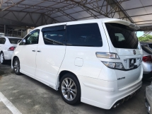 2011 TOYOTA VELLFIRE 2.4 Z PLATINUM SUNROOF 2 POWER DOORS POWER BOOTH FULL BODYKIT 2011 REGISTER 2014 TIP TOP