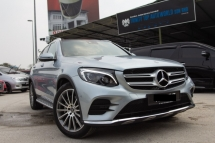 2018 MERCEDES-BENZ GLC 250 2.0 4MATIC AMG, GLC250 FULL SPEC, UNDER WARRANTY, LIKE NEW, MILEAGE 16K KM, MUST VIEW, 4 CAMERA, POWER BOOT, END YEAR PROMO NOW, DEAL SAMPAI JADI
