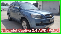 2011 CHEVROLET CAPTIVA (CBU) 2.4 4WD (A) Facelift Petrol 7 Seats SUV Good Condition Confirm Accident Free Confirm No Repair Need Worth Buy