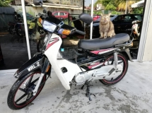 2017 Demak EX 90 Demak  Motosikal with number WRL2