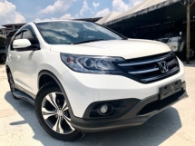 2014 HONDA CR-V 2.0 AWD (A) FACELIFT 1 ONWER MALAY LEATHER SEAT