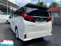 2016 TOYOTA ALPHARD 2.5 SA PRE CRASH 2 POWER DOOR 7 SEATER UNREG
