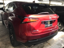 2015 LEXUS NX NX200T F SPORTS JAPAN FULL SPEC 2015