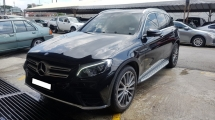 2017 MERCEDES-BENZ GLC 250 4MATIC AMG LINE (A) REG 2017, ONE OWNER, FULL SERVICE RECORD, LOW MILEAGE DONE 30K KM, UNDER WARRANTY UNTIL MARCH 2021