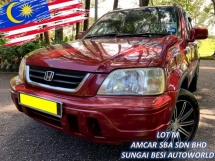 1996 HONDA CR-V CR-V 2.0 (A) IMPORTED 1 OWNER RAYA SALE