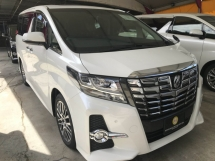 2017 TOYOTA ALPHARD 2.5 SC FULLSPEC WITH SUNROOF 2017