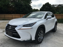 2016 LEXUS NX 200T L PACKAGE UNREG
