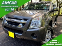 2010 ISUZU D-MAX 2.5L DOUBLE CAB (M) 1 OWNER FREE CANOPY