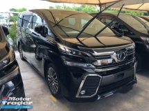 2015 TOYOTA VELLFIRE 2.5 ZG Edition 360 View Surround Camera Memory Pilot Seat Automatic Power Boot 2 Power Doors Intelligent Bi LED Smart Entry Push Start 9 Air Bag Unreg