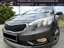 2015 KIA CERATO K3 (A) 1.6 /1 OWNER/ FULL SERVICE KIA / UNDER WARRANTY / TIPTOP CONDITON
