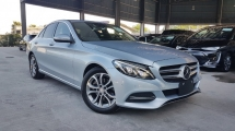 2014 MERCEDES-BENZ C-CLASS 2017 Mercedes C200 Avantgarde Power Boot Head Up Display Keyless Radar Blind Spot LKA Full Leather Unregister for sale