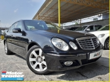 2009 MERCEDES-BENZ E-CLASS 1.8 (A) E200 KOMPRESSOR GOOD CONDITION RAYA PROMOTION PRICE.