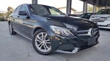 2016 MERCEDES-BENZ C-CLASS 2016 Mercedes C200 Avantgarde W205 Demo Car Japan Spec Keyless Radar Safety System Blind Spot LKA Unregister for sale
