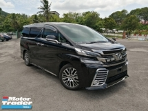 2017 TOYOTA VELLFIRE 2.5 ZG SUNROOF UNREGISTERED