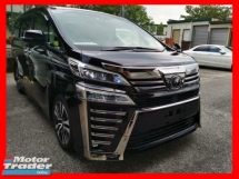 2018 TOYOTA VELLFIRE 2.5ZG NEW FACELIFT WITH SUNROOF AND 3 LED- UNREG - JAPAN SPEC - COME TO VIEW....