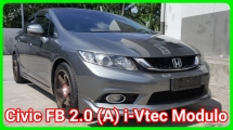 2014 HONDA CIVIC FB 2.0 SE Modulo Car Keep In Excellent Condition Accident Free Confirm No Repair Need Like New Car Worth Buy