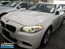 2012 BMW 5 SERIES 520i M Sport Unreg 2012 Japan Specs *** Many Units & Colors *** Raya Promo ***