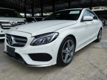 2016 MERCEDES-BENZ C-CLASS C180 AMG Sport Radar Safety Unreg Sale Offer