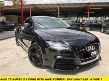 2011 AUDI TT 2.0 TFSI R-SPEC COME WITH NICE NUMBER 3338 LED DAYLIGHT SYSTEM