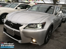 2012 LEXUS GS250 F Sport 2.5 V6 Unreg 2012 *** Car King *** Like New Car *** Last Unit Raya Promotion