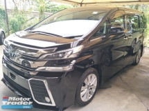 2015 TOYOTA VELLFIRE 2.5 ZA ORIGINAL 360 SURROUND CAMERA JBL SURROUND SOUND SYSTEM PRE CRASH STOP SYSTEM FREE WARRANTY