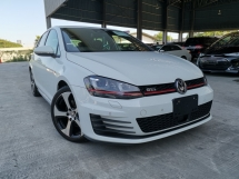 2014 VOLKSWAGEN GOLF GTI WHITE DCC PACKAGE RAYA OFFER UNREG