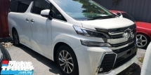 2017 TOYOTA VELLFIRE ZG 2.5 / PILOT SEATS / 4 YEARS WARRANTTY