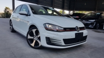 2014 VOLKSWAGEN GOLF 2014 Volkswagen Golf GTi MK7 DCC Package Japan Spec Unrgister for sale