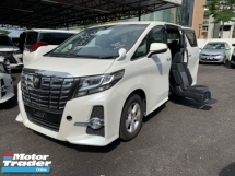 2015 TOYOTA ALPHARD 2.5 SA WHEELCHAIR 2 POWER DOOR ELECTRIC SEATS UNREG