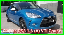 2016 CITROEN DS3 1.6 VTI (A) Coupe Ori 46k Km Mileage Warranty Until 2020 September Excellent Condition Semi Racing Bucket Seat Worth Buy
