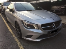 2015 MERCEDES-BENZ CLA 200 CBU 34K KM Full Service Record Actual Year Make 2015