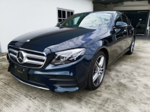 2017 MERCEDES-BENZ E-CLASS E200 AMG NEW MODEL - UNREG - READY TO VIEW - SPECIAL COLOR