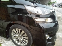 2013 TOYOTA VELLFIRE Z GOLDEN EYES FACELIFT MODEL MPV CAR
