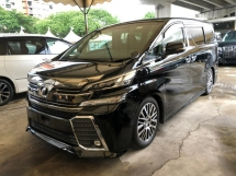 2015 TOYOTA VELLFIRE 2.5 ZG PILOT SEAT 4 CAMERA POWER BOOTH 2015 JAPAN UNREG NO GST NO SST