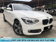 2015 BMW 1 SERIES 118I SPORT LINE LOCAL SPEC RED INTERIOR LOW MILEAGE 1OWNER