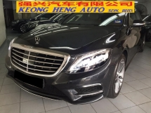 2017 MERCEDES-BENZ S-CLASS S400 AMG Reg 2018 10K KM Under Warranty Until 2022