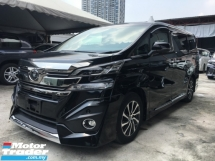 2017 TOYOTA VELLFIRE 3.5 EXECUTIVE LOUNGE FULL SPEC UNREG