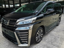 2018 TOYOTA VELLFIRE 2.5ZG Edition Pre Crash Sunroof Unreg Sale Offer