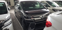 2017 TOYOTA VELLFIRE 2.5 ZG ACTUAL YEAR MAKE 2017 SST INCLUSIVE