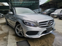 2015 MERCEDES-BENZ C-CLASS C180 AMG HEAD UP DISPLAY POWERBOOT SILVER UNREG
