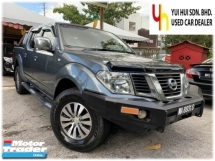 2014 NISSAN NAVARA 2.5 (A) LE SPEC LEATHER SEAT ROLL BAR