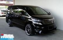 2011 TOYOTA VELLFIRE 2.4 (A) Z Platinum 7-Seater Mpv's Premium Model