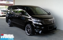 2011 TOYOTA VELLFIRE 2.4 (A) Z Platinum 7-Seater Mpv\'s Premium Model