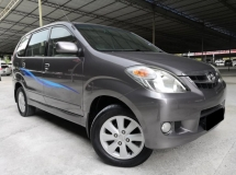 2010 TOYOTA AVANZA Toyota Avanza 1.5 AT G SPEC TIP TOP CONDITION 1 OWNER