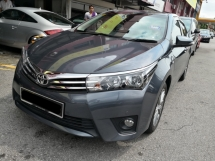 2015 TOYOTA ALTIS 1.8 G Edition Low Mil 52000 km only Full Service under UMW Toyota