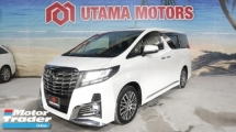 2016 TOYOTA ALPHARD 3.5 SAC SUNROOF JBL PRE CRASH RAYA PROMOTION