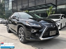 2016 LEXUS RX 200T 2.0 15K KM Full Service Record Rear Entertainment 4 Cam