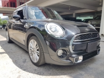 2014 MINI Cooper S 5 DOOR 2.0 TURBO (UNREG) KEY LESS ENTRANCE